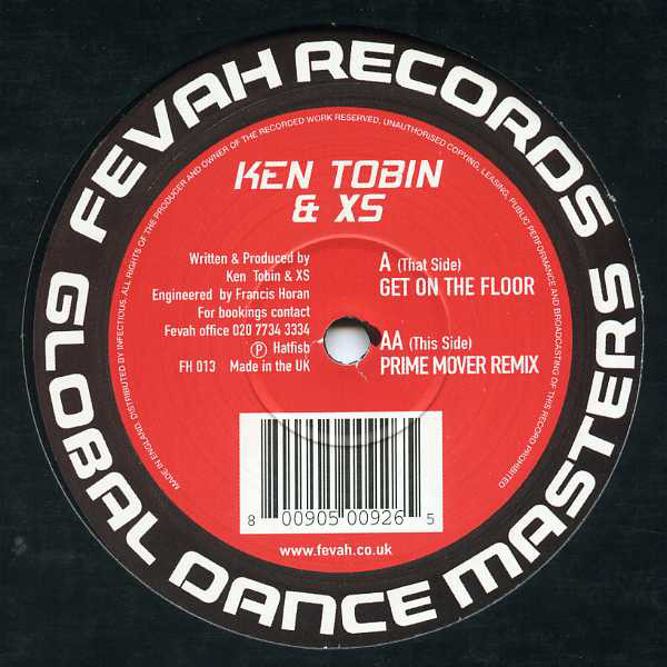 Ken Tobin & XS - Get On Da Floor